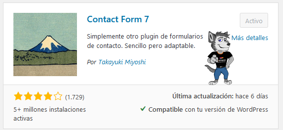 Los Plugins más Populares para WordPress 2020 ( Contact Form7 )